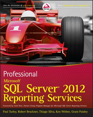 Book Cover - SQL Server 2012 Reporting Services